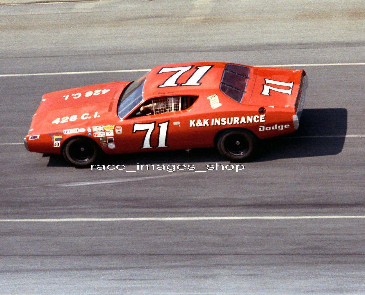 Bobby Isaac 71 K Amp K Insurance Dodge 1971 Daytona Nascar 8x10