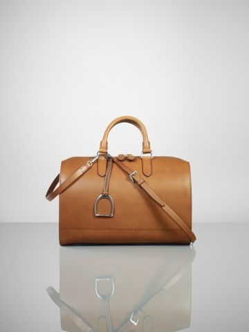Ralph Lauren -Vachetta Stirrup Boston Bag  7ccc0d880bd64