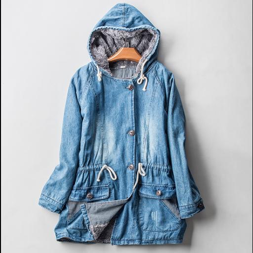 bfd81d204 جاكيت جينز واسع | ملابس نسائية شتوية | متجر أزياء مول | Jackets ...