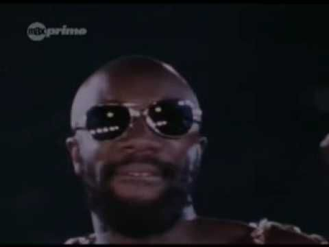 Isaac Hayes - Theme from Shaft. I chose this version because it is so awesome. Daaaamn right!