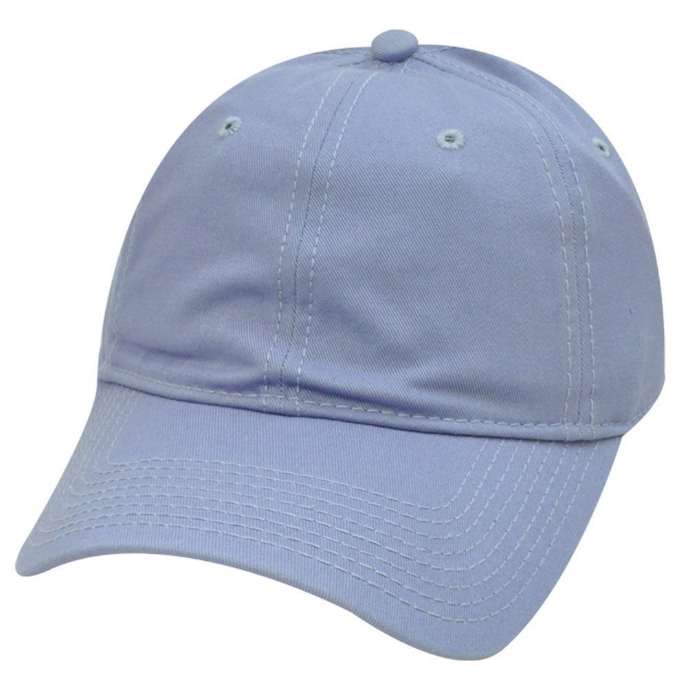Men Plain Washed Cap Style Cotton Adjustable Baseball Cap Blank Solid Hat Hot