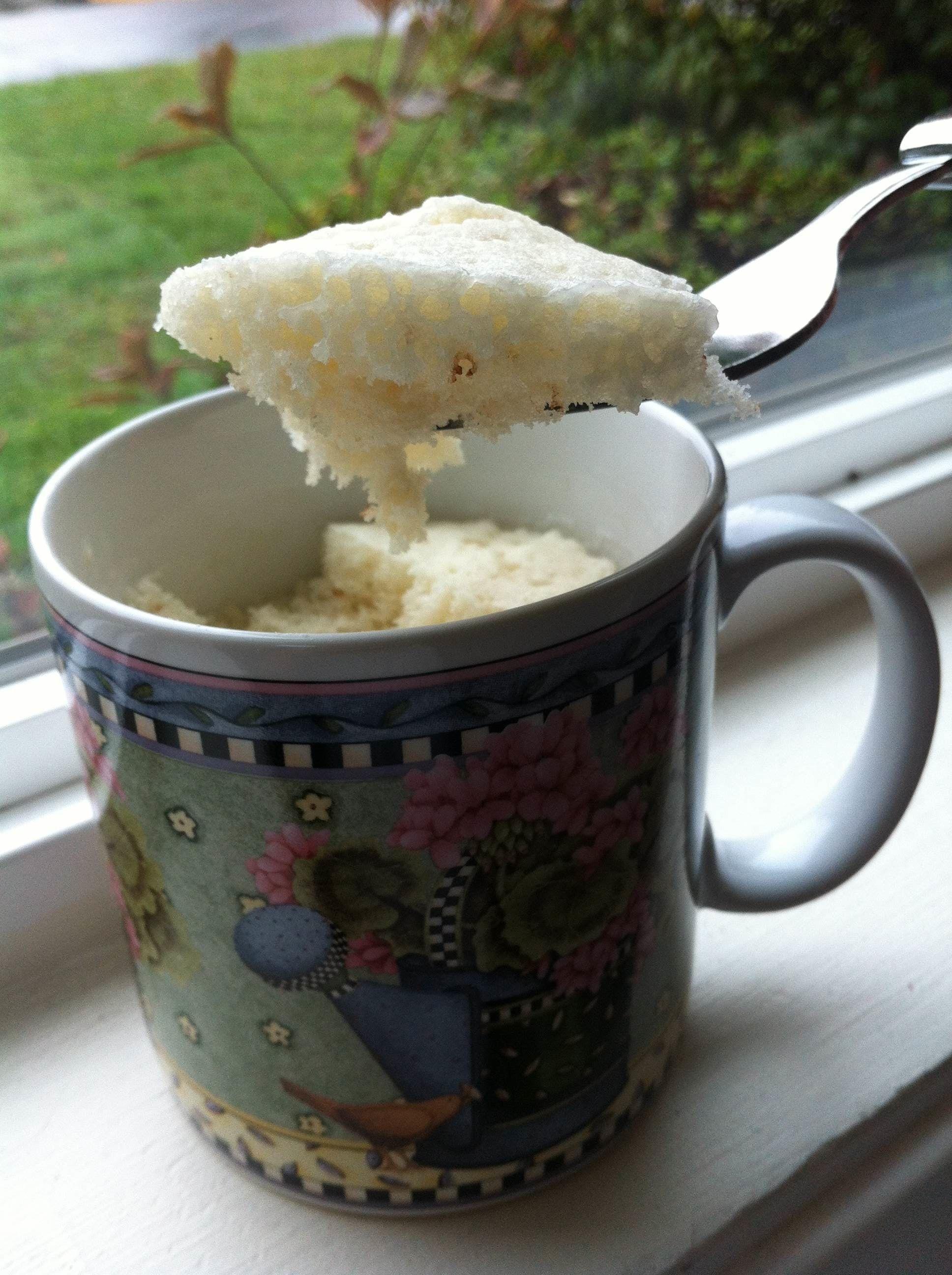Chocolate Chip Mug Cake Next, put in a ¼ cup of pancake ...