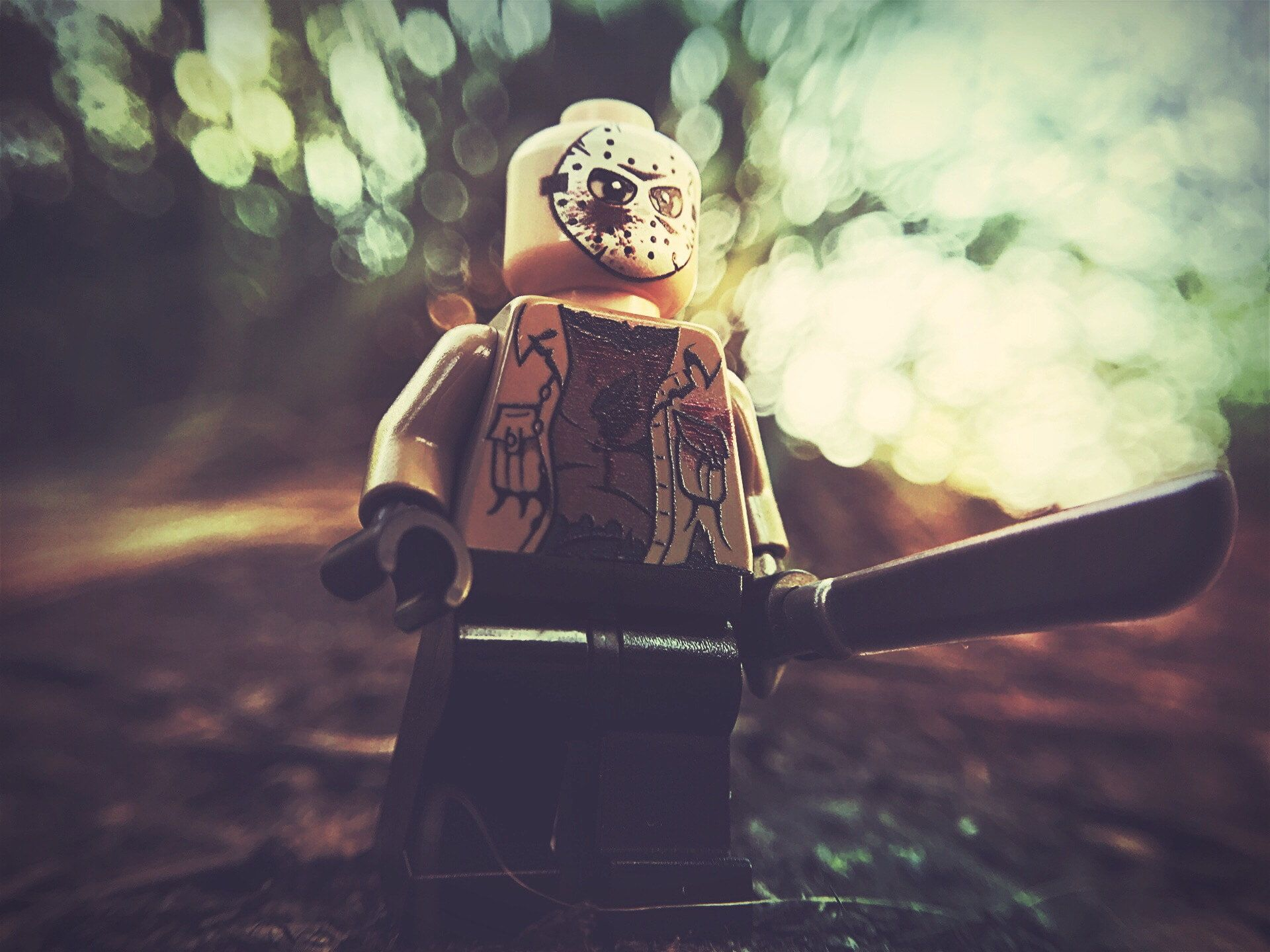Horror Jason Voorhees Lego Toys 1080p Wallpaper Hdwallpaper Desktop Lego Stormtrooper Stormtrooper Toy Horror Desktop jason voorhees wallpaper hd