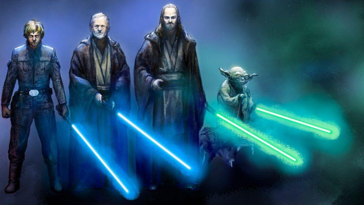 The Good Star Wars Jedi Star Wars Wallpaper Star Wars Art