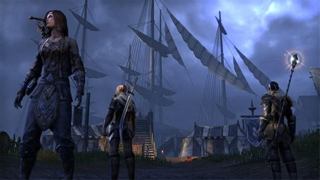 The Elder Scrolls Online Confirmed For Ps4 And Xbox One Elder