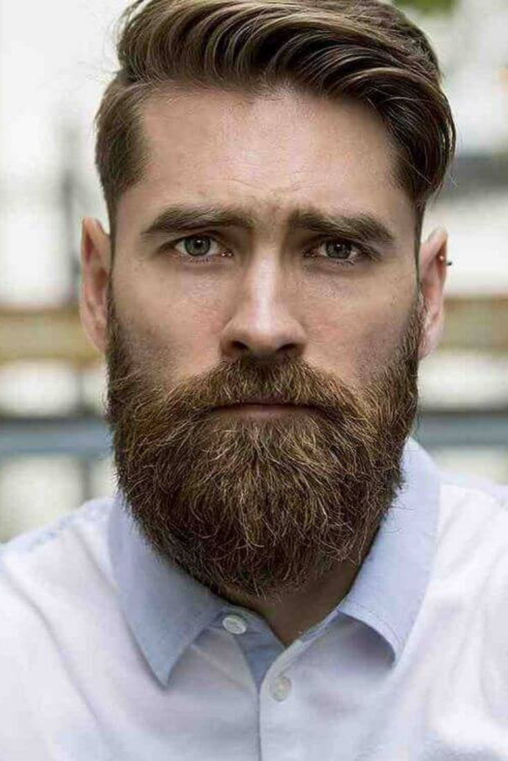 Choosing The Perfect Hairstyle And Beard Combination Hairstyle On Point Short Hair With Beard Beard Hairstyle Mens Haircuts Short