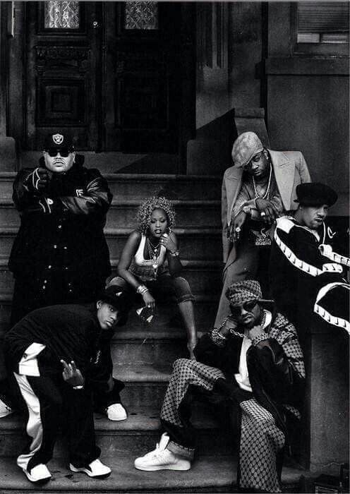 I love this pic of a few of my Favorite Hip-Hop Artists (Love me Redman )