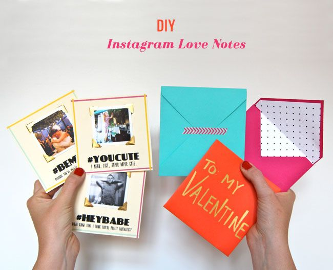 DIY Instagram Love Notes