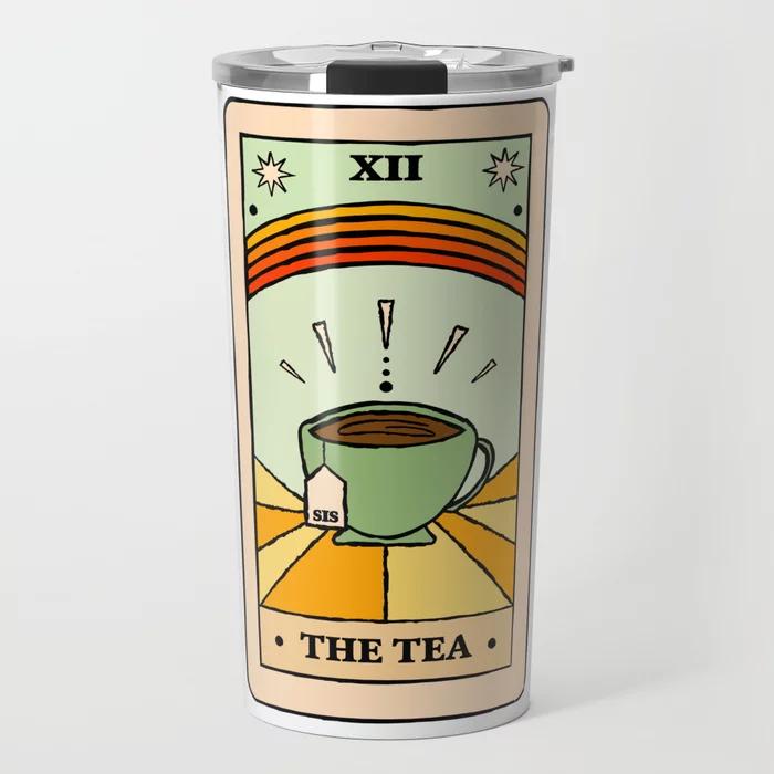 Sis Tarot Card Travel Mug