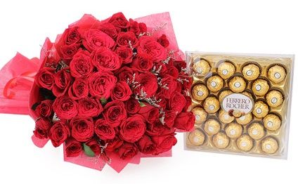 Send Anniversary Flowers and Gifts to Baroda
