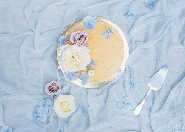 simple wedding cake | fabmood.com #weddingcake #cakes