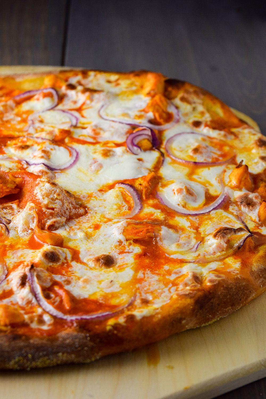 Buffalo Chicken Pizza Recipe Recipe Buffalo Chicken Pizza Recipe Pizza Recipes Homemade Chicken Pizza Recipes