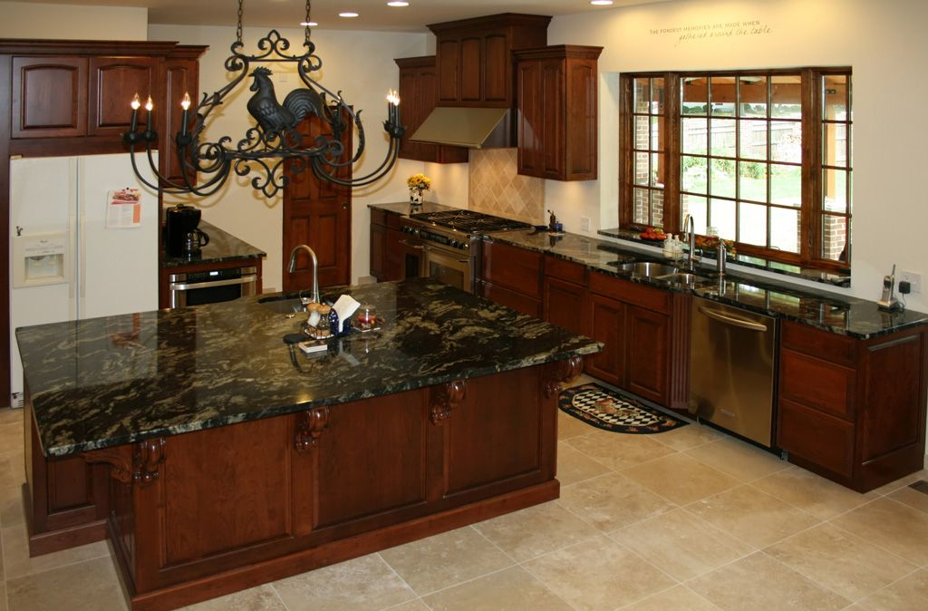 Kitchen Remodel Pictures Cherry Cabinets Kitchen Cabinet .kitchen Designblack Cabinetwhite Cabinet