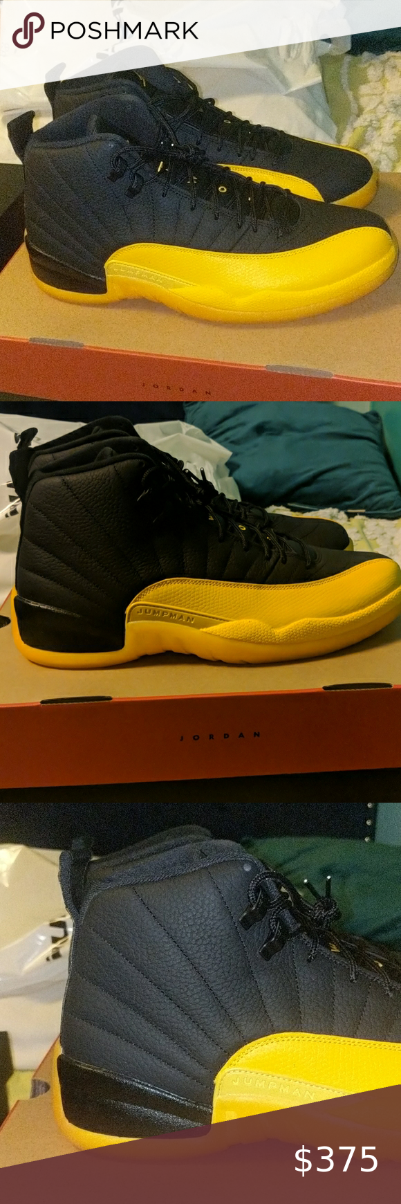 Air Jordan 12 Retro University Gold Air Jordan 12 Retro University Gold Men S Size 13 X2 Available New With Og All Dead In 2020 Air Jordan 12 Retro Air Jordans Retro
