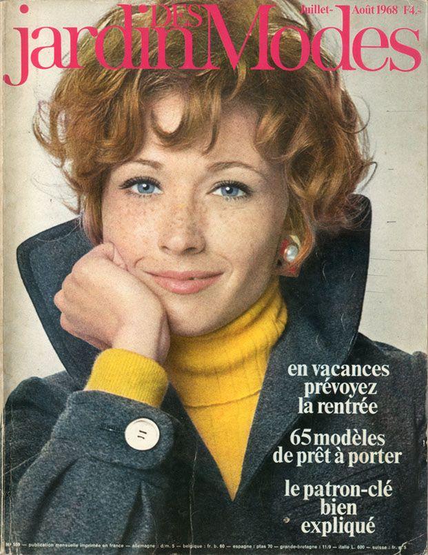 """Résultat de recherche d'images pour """"jardins des modes n° 559 1968"""""""