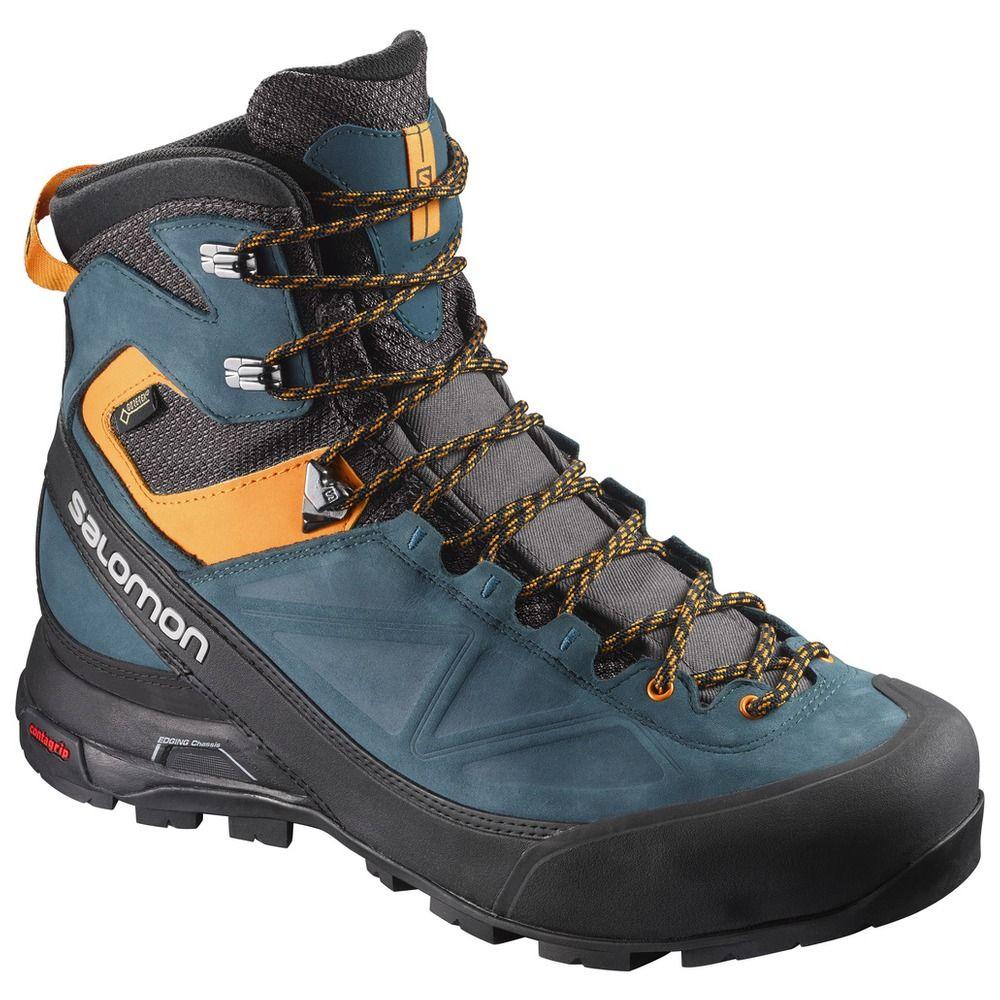 Salomon X ALP MTN GTX W Mountaineering Schuhe Herren Grau