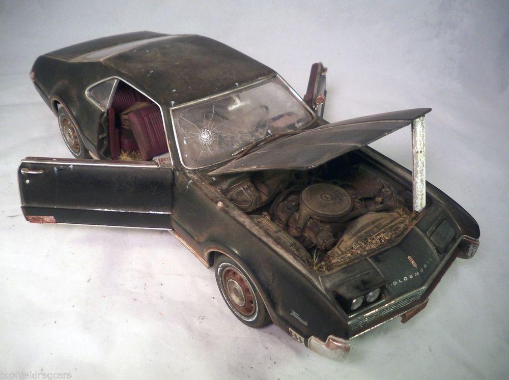 1958 Chevrolet Corvette Franklin Mint Barn Find Custom Weathered ...