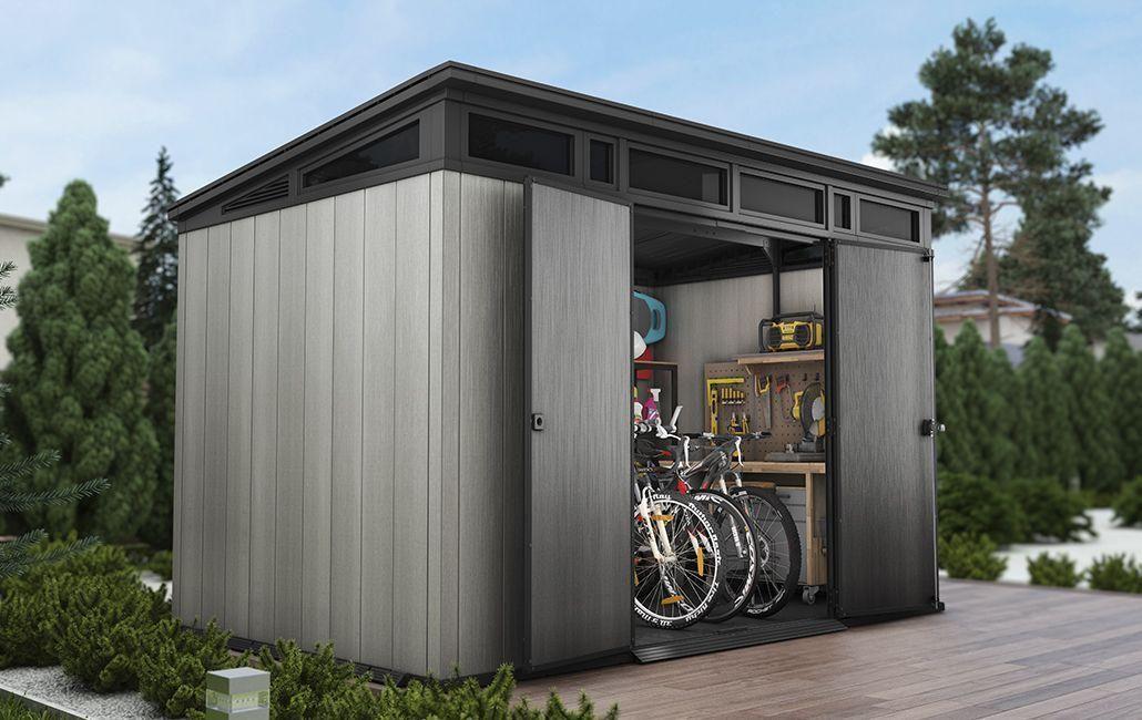 Domek Narzedziowy Keter Artisan 11x7 7 5m2 In 2020 Shed Outdoor Storage Sheds Garden Shed