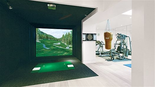 Perfect Man Cave Trending Decor Golf Room Luxury Decor