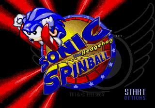 Sonic the Hedgehog Spinball (1993)
