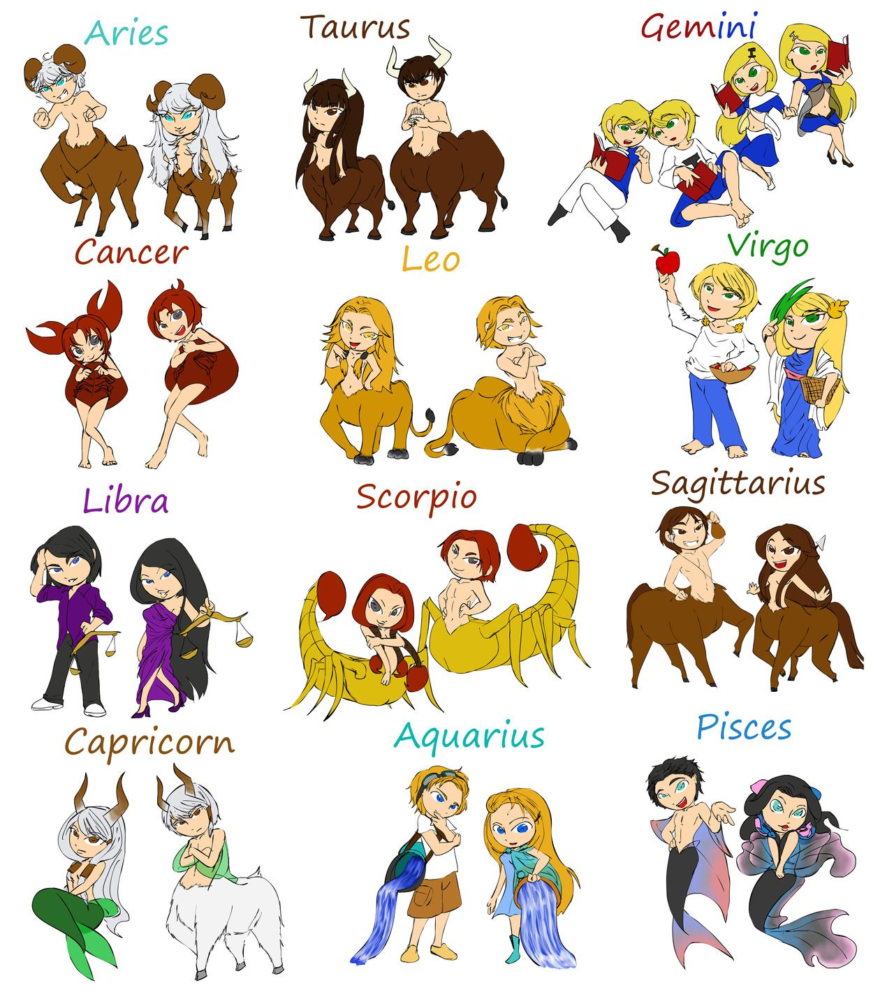 eee the Capricorn, tbh i dont match my zodiac one way or another but she coote