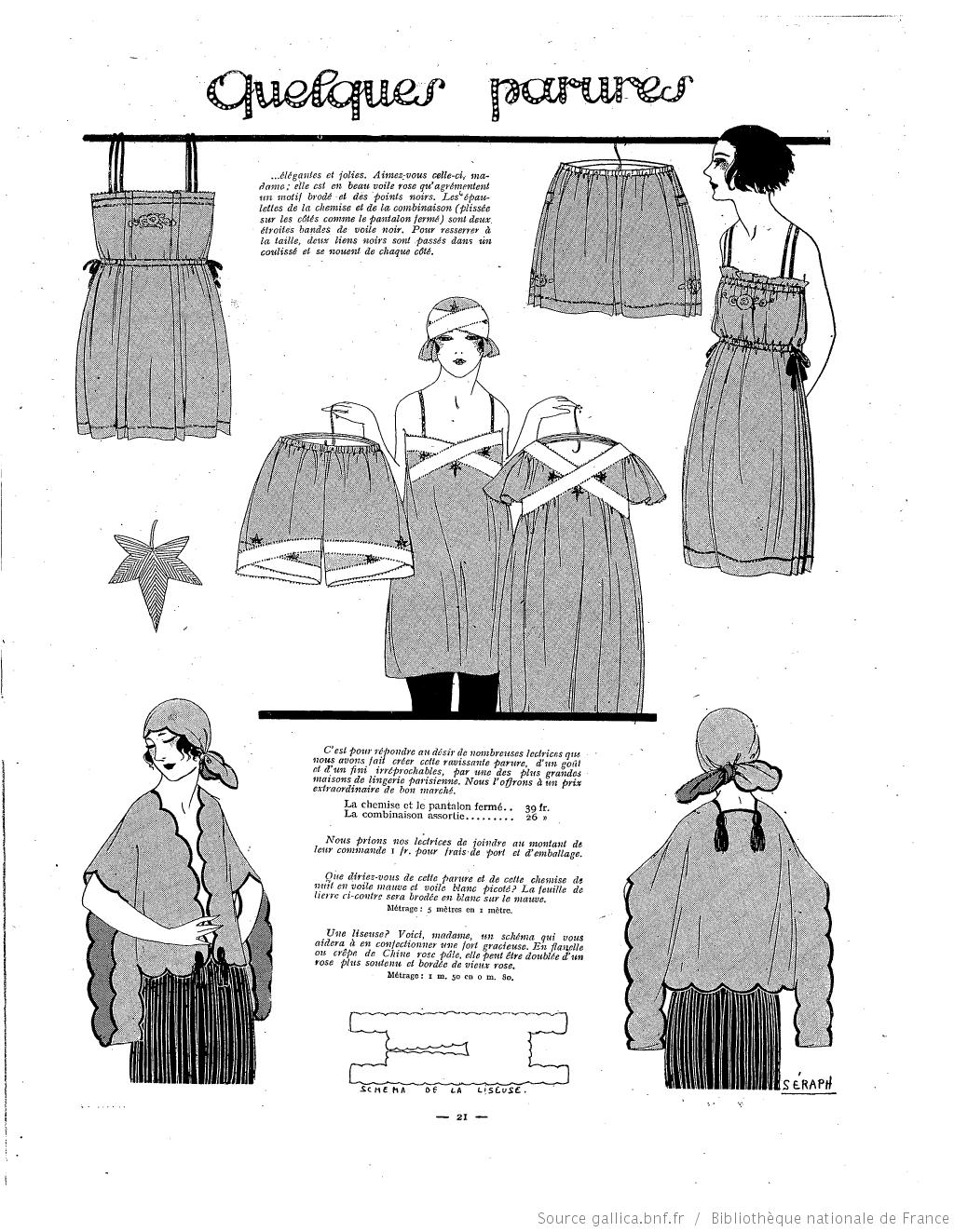Les Modes de la femme de France 1922/01 | 1910-1929 | Pinterest ...