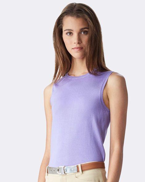 Silk Sleeveless Tank - Collection Apparel Shirts & Blouses - RalphLauren.com