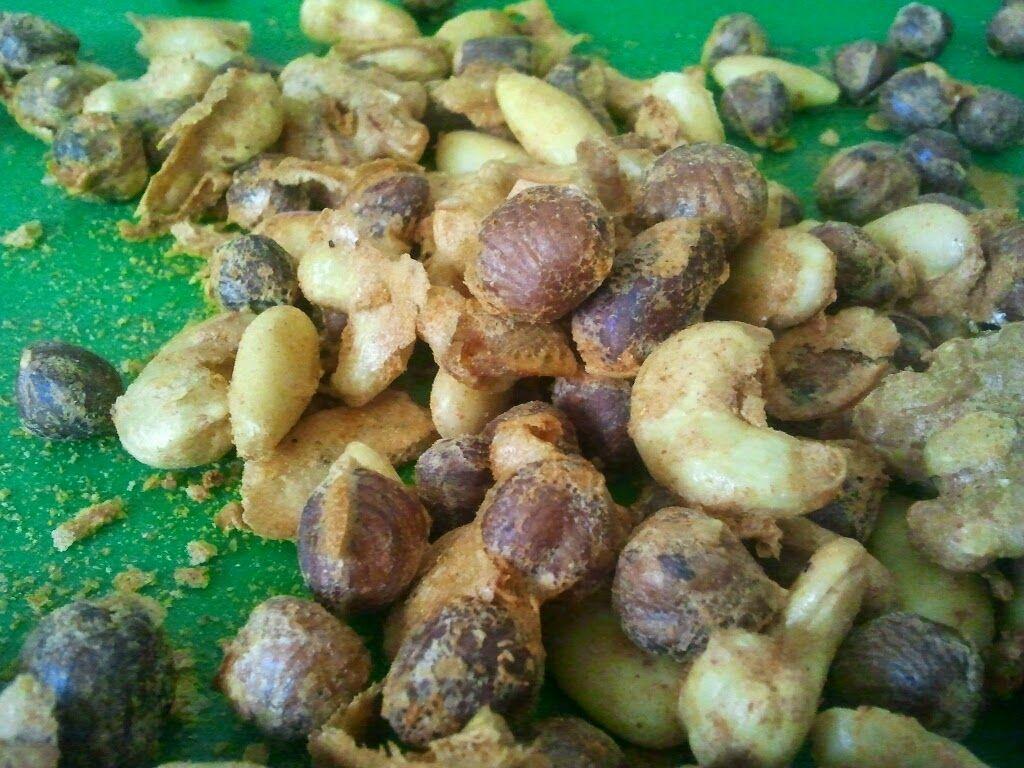 Uit mijn keukentje: No Waste (9): Eieren en Spiced nuts