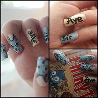 Fairy Tail Nail Art