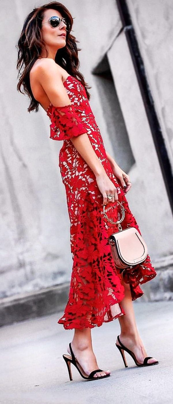 pretty outfit ideas to finish this spring with style maxi