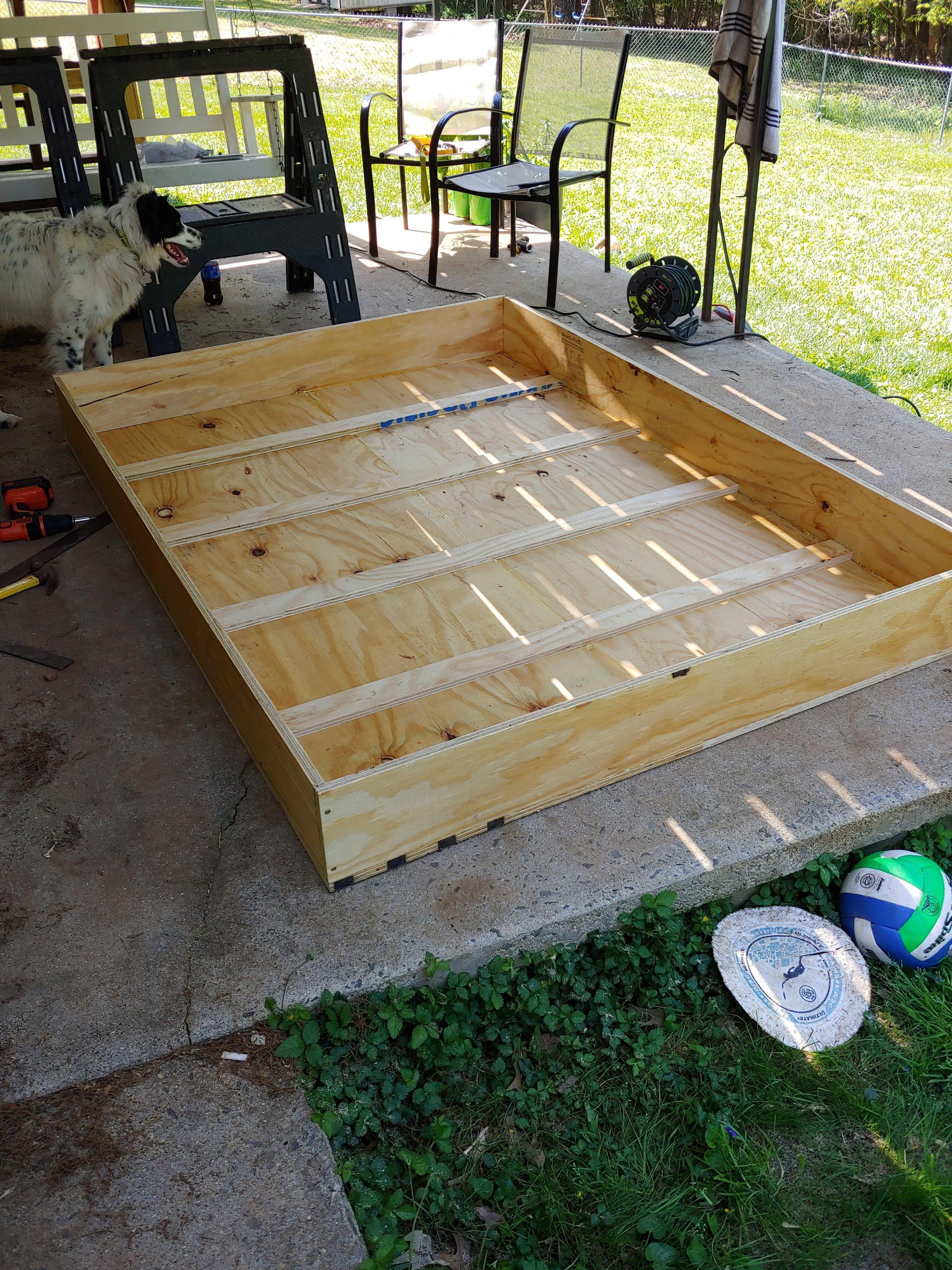 Murphy bed Ana White Murphy bed, Build a murphy bed