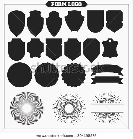Vintage design elements. Retro style label, badge, stamp and emblem.  - stock vector