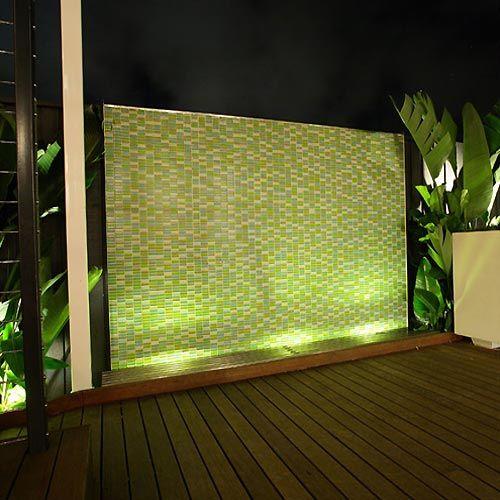 feature lighting ideas. Garden Lighting Ideas · Lit Feature Wall E