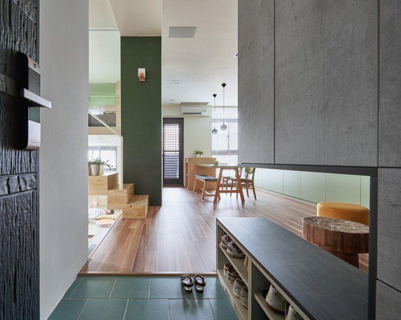 Hao Design Renovates Compact Taiwanese Apartment In 2020 Futuristic Home Interior Design News Village House Design