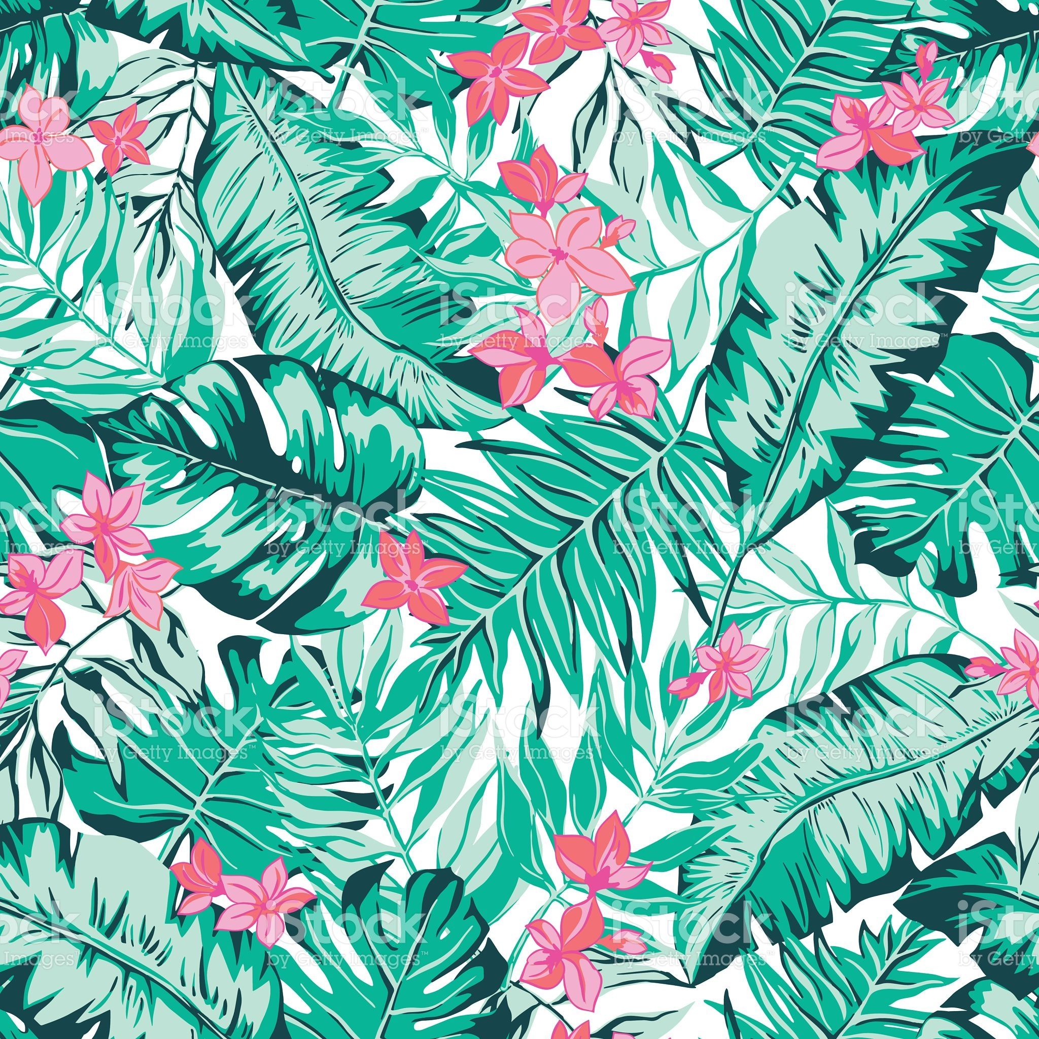 tropical wallpaper pattern - photo #38