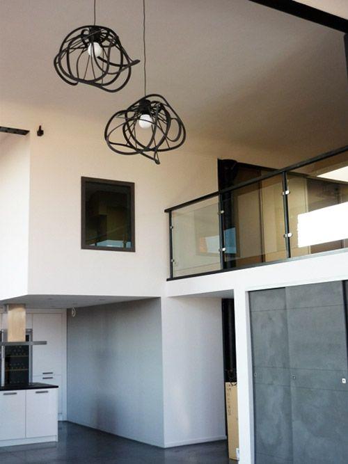 24 id es de mezzanines pour votre loft mezzanine lofts. Black Bedroom Furniture Sets. Home Design Ideas