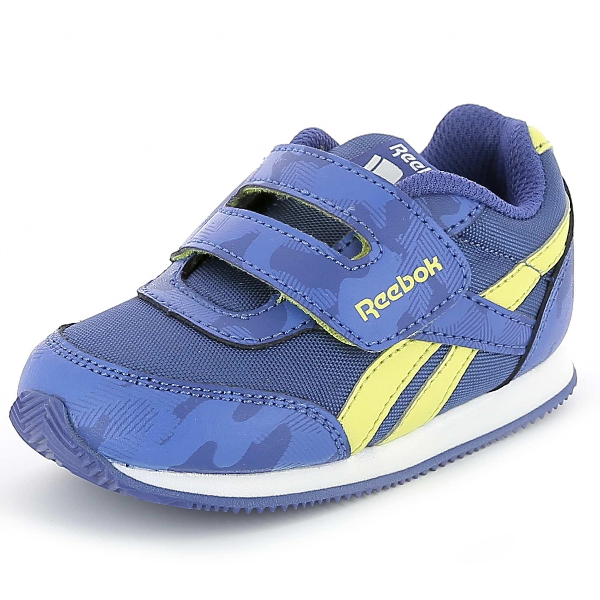 0d12eec01bd Zapatillas deportivas con velcro  Reebok  AR2311COL Infantil niño ...