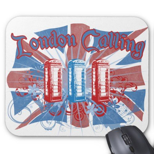 London Calling Mouse Pad