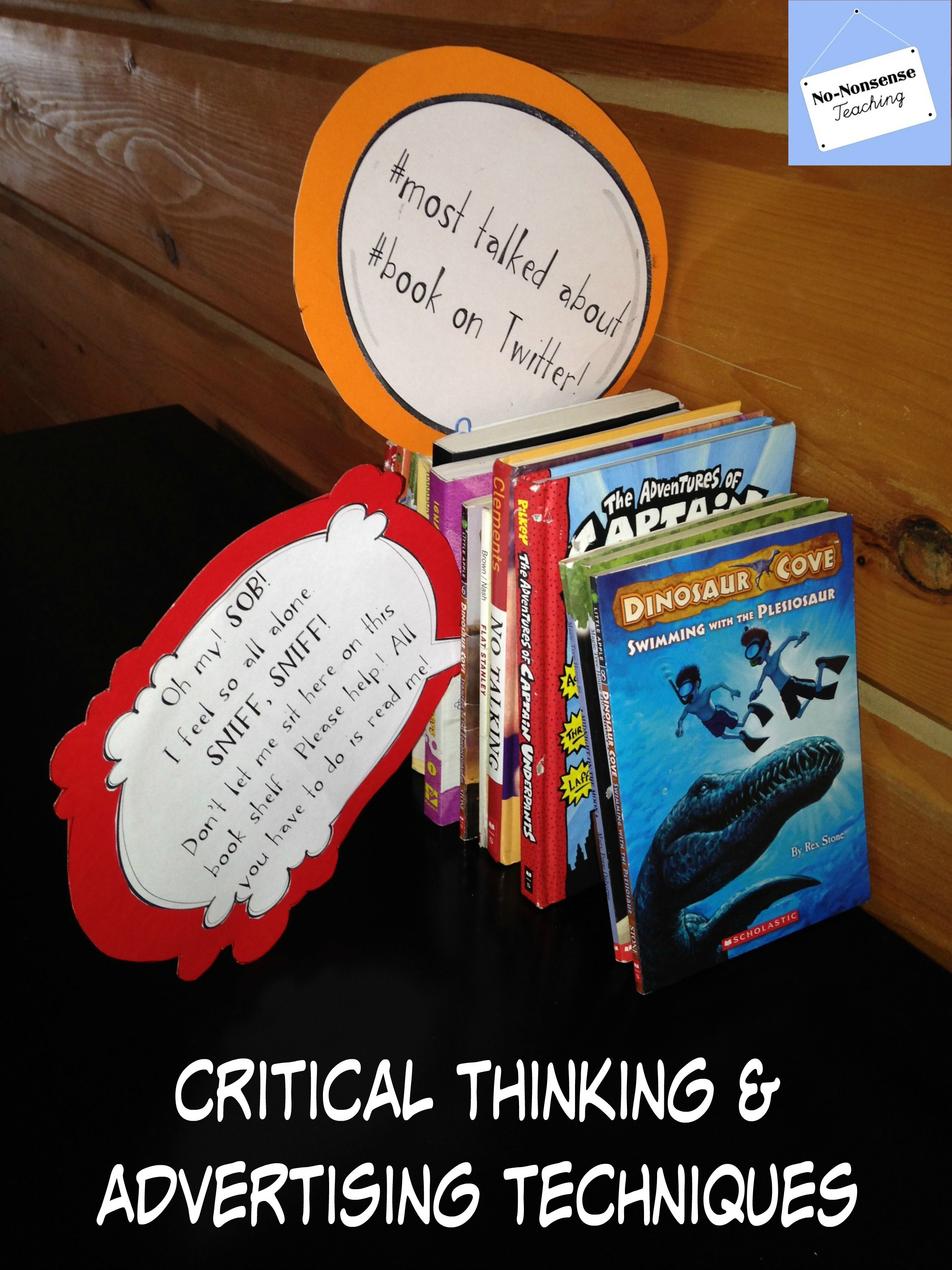 Persuasive Ads Toyze Critical Thinking Advertising Techniques Library