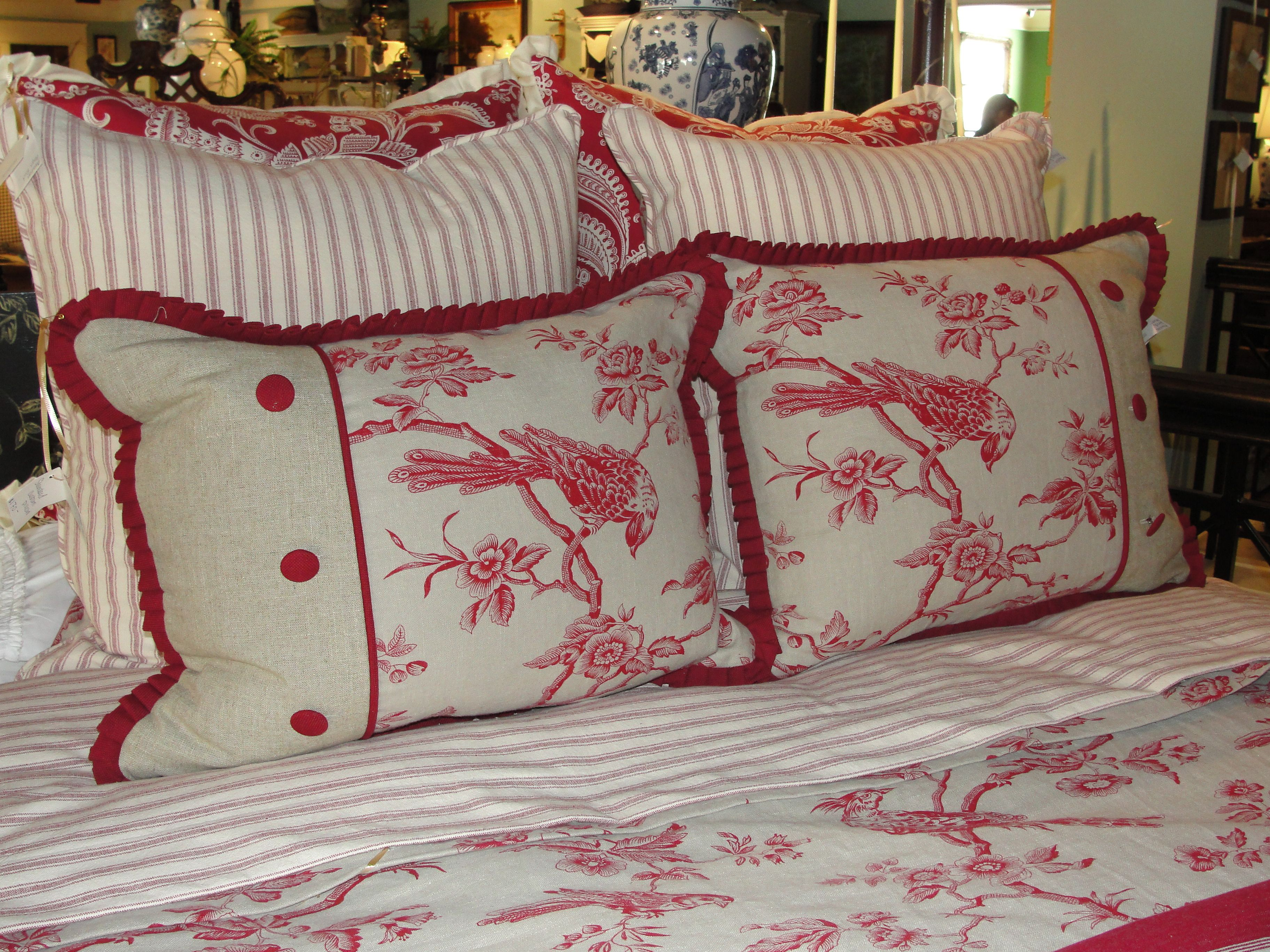 Bedroom Decorating Ideas Totally Toile: The Amazing Team Of Bedding Designers At