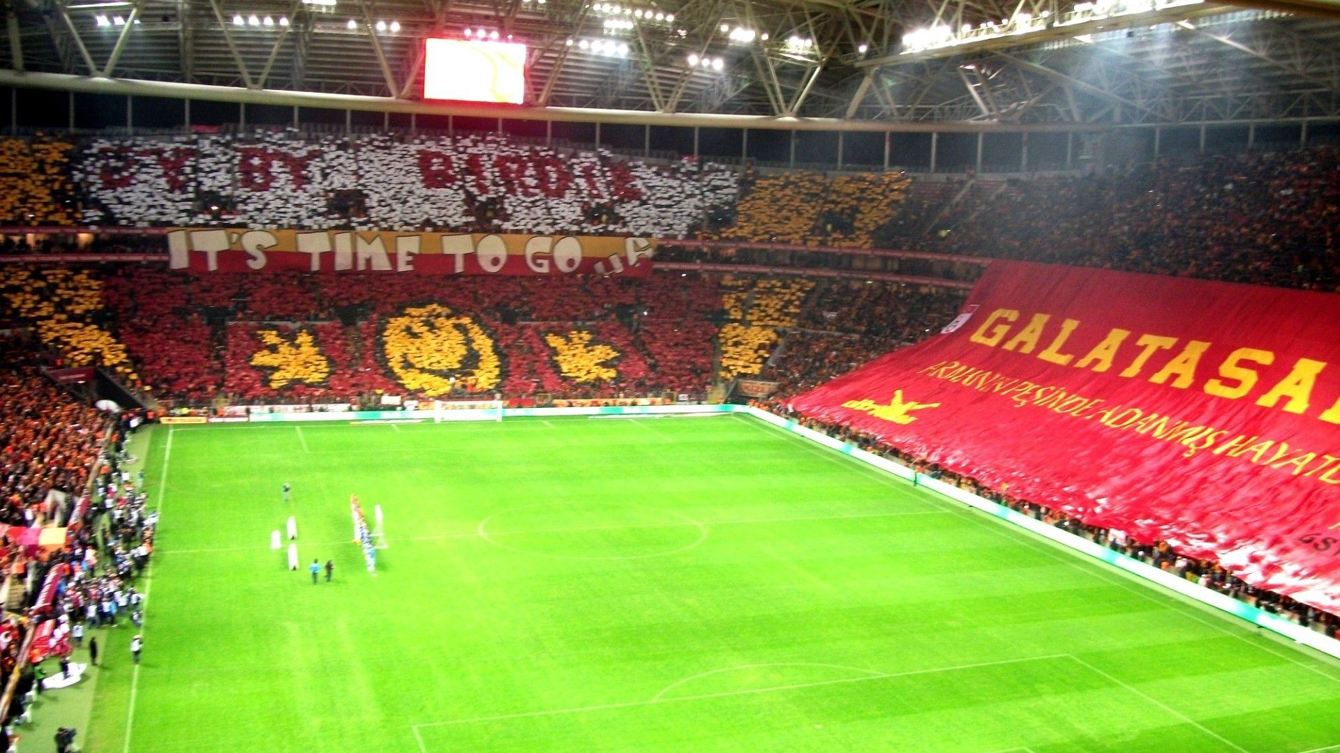 Soccer Stadium Galatasaray Sk Tt Arena Football Fans Wallpaper Soccer Stadium Arena Football Football Fans