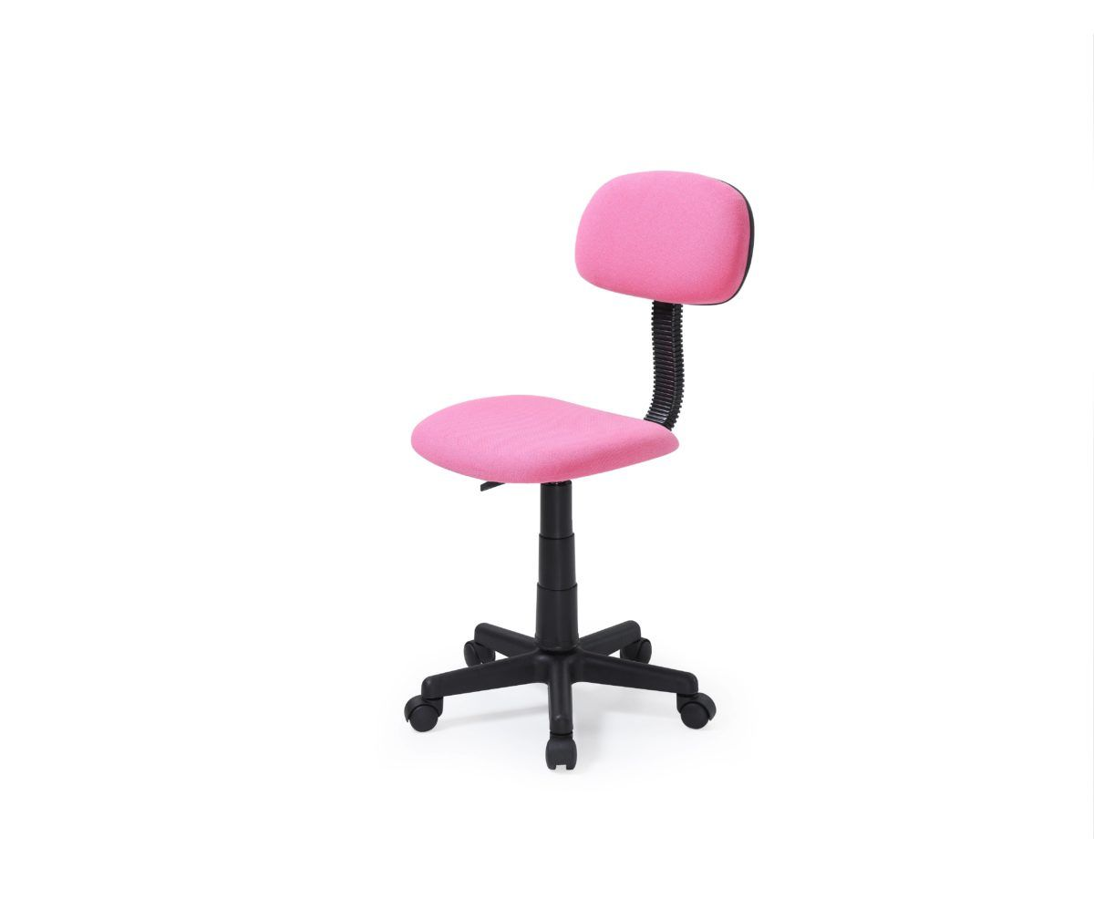Hodedah Armless Adjustable Swiveling Kids Desk Chair Pink Walmart Com In 2020 Armless Task Chair Kids Desk Chair
