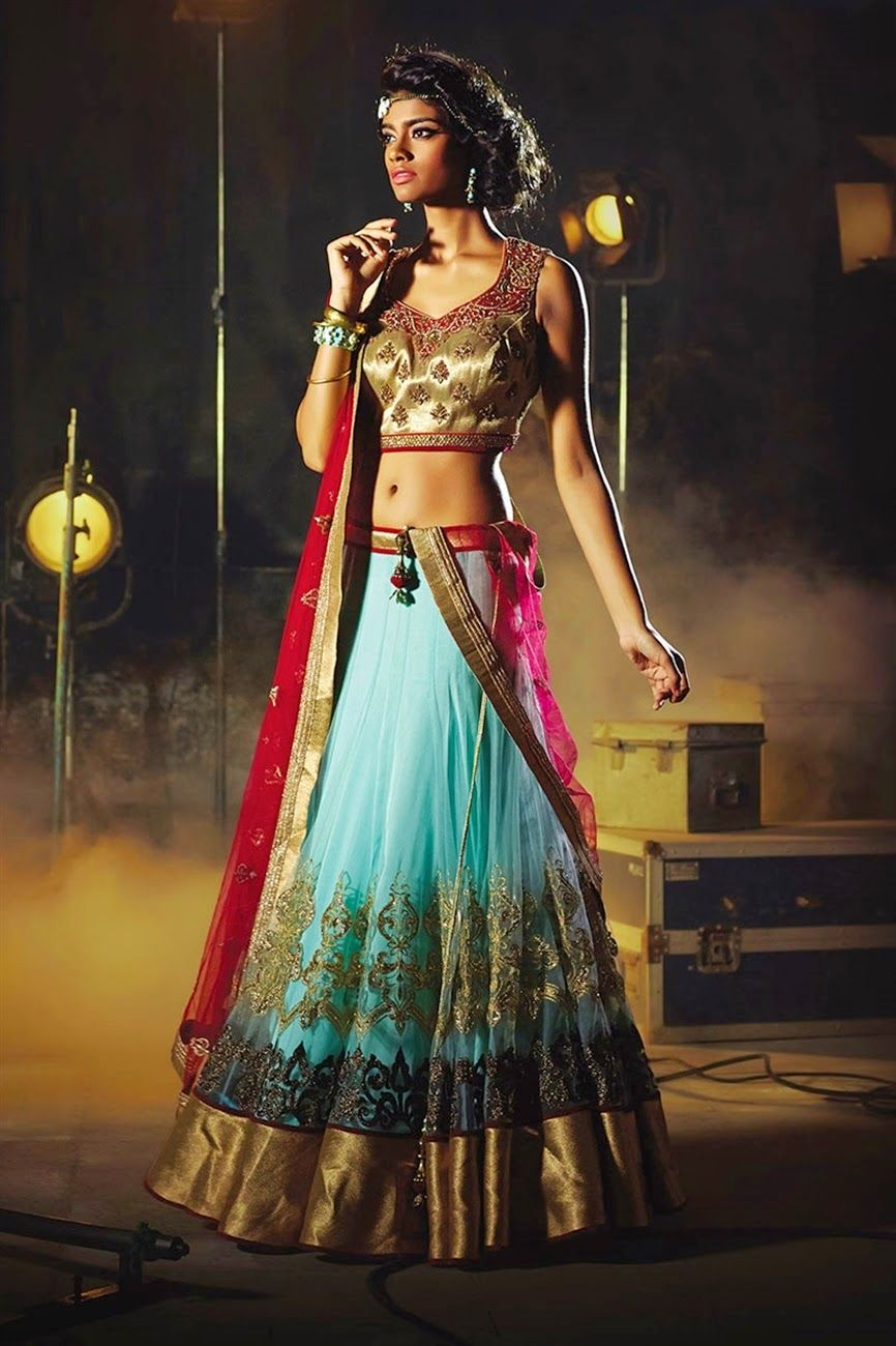 India Online Internet Use In India And The Development Of: South Indian Lehenga Choli Online Shopping