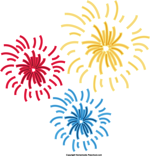 Free Fireworks Clipart | Art/Clipart | Pinterest | Fireworks and ...
