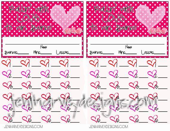 pack of 12 Bunco scorecards with matching scoresheets