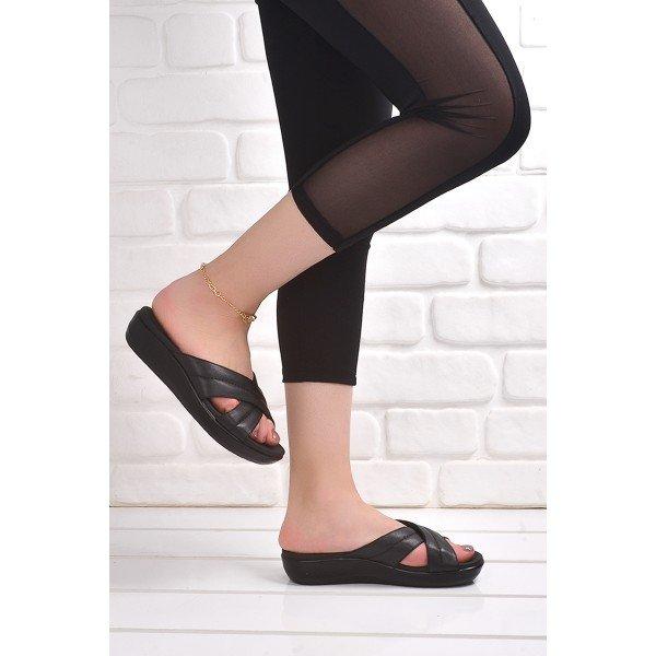 Ceyo 9905 3 Gunluk Anatomik Bayan Terlik Siyah Modeli Ve Fiyati 20yterceyo00025 B 2020 Terlik Moda Sandalet