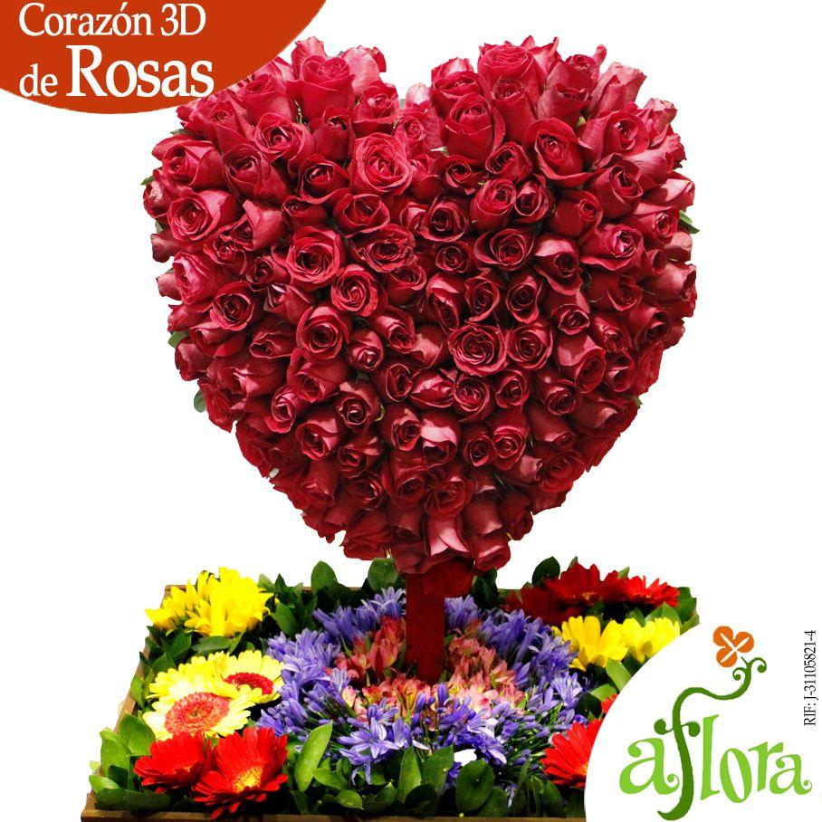 Arreglo Compuesto Por Rosas En Forma De Corazón Corazón