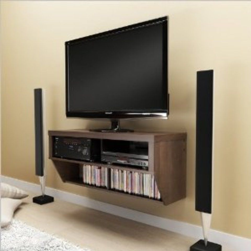Wall Mounted Console Diy Tv Stand Diy Tv Diy Entertainment