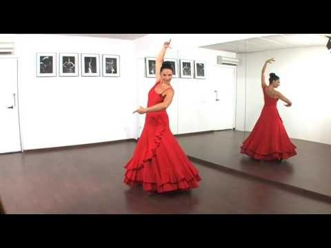 Curso Aprende A Bailar Sevillanas Con Pilar Astola Introducción Y 1º Pasos Youtube Flamenco Baile Baile Flamenco