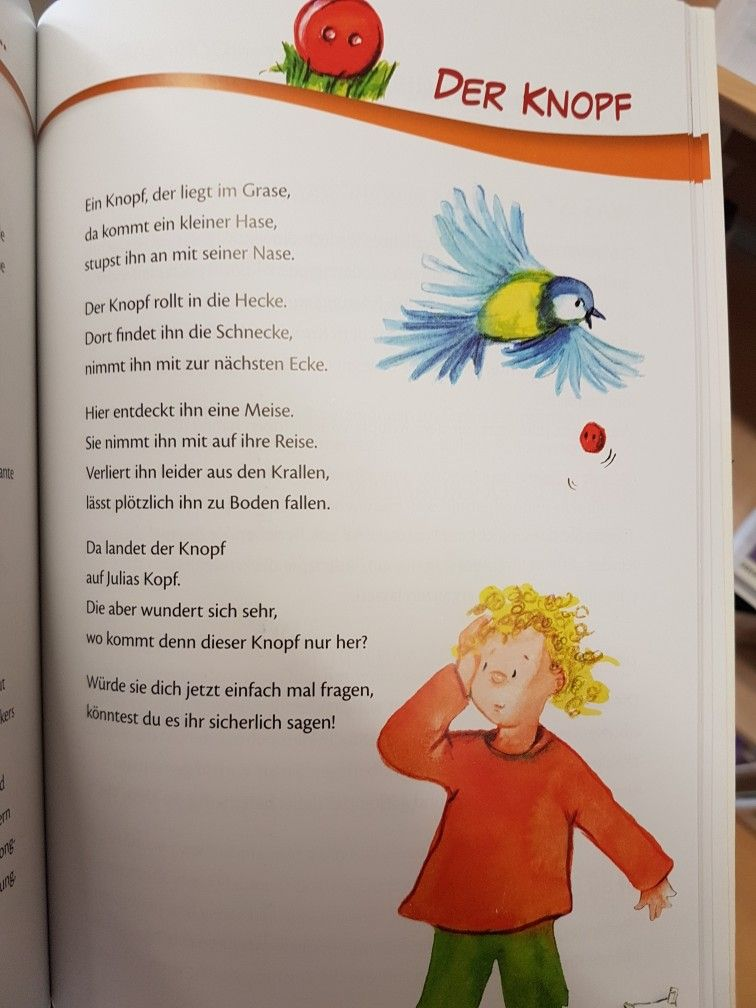 Der Knopf #gedicht #kita #kindergarten #krippe #erzieherin ...